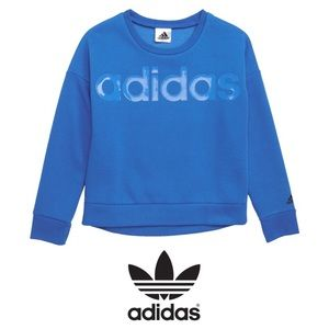 ADIDAS Cropped Sweatshirt (Big Girls)